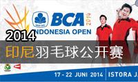 2014年印度尼西亞羽毛球公開賽