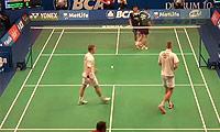 阿山/塞蒂亚万VS彼德森/科丁 2014印尼公开赛 男双1/16决赛视频