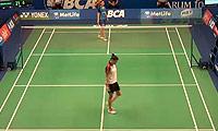 菲尔达萨里VS李文珊 2014印尼公开赛 女单1/16决赛视频