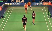 鲁恺/黄雅琼VS基多/皮娅 2014印尼公开赛 混双1/16决赛视频
