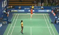 王仪涵VS辛德胡 2014印尼公开赛 女单1/16决赛视频
