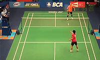 约根森VS上田拓马 2014印尼公开赛 男单1/16决赛视频