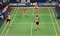 李绍希/申升瓒VS班克尔/吉尔莫 2014印尼公开赛 女双1/16决赛视频