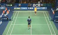 李宗伟VS索尼 2014印尼公开赛 男单1/16决赛视频
