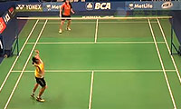 布桑兰VS戴资颖 2014印尼公开赛 女单1/8决赛视频