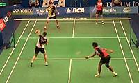 艾哈迈德/纳西尔VS申白喆/张艺娜 2014印尼公开赛 混双1/8决赛视频