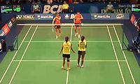 马晋/唐渊渟VS萨里/姚蕾 2014印尼公开赛 女双1/4决赛视频