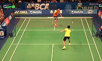 谌龙VS陈跃坤 2014印尼公开赛 男单1/4决赛视频