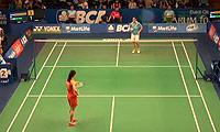 王适娴VS布桑兰 2014印尼公开赛 女单1/4决赛视频