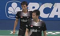 阿山/塞蒂亚万VS费尔纳迪/基多 2014印尼公开赛 男双1/4决赛视频