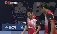 徐晨/马晋VS艾哈迈德/纳西尔 2014印尼公开赛 混双半决赛视频