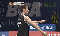 田儿贤一VS李宗伟 2014印尼公开赛 男单半决赛视频