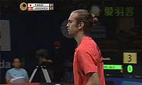 约根森VS田儿贤一 2014印尼公开赛 男单决赛视频