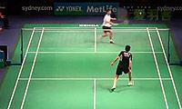 许仁豪VS郑健祥 2014澳洲公开赛 男单1/16决赛视频