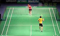 辛德胡VS妮查恩 2014澳洲公开赛 女单1/8决赛视频