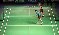 黄永棋VS茨维布勒 2014澳洲公开赛 男单1/8决赛视频