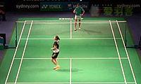 马琳VS成池铉 2014澳洲公开赛 女单1/8决赛明仕亚洲官网