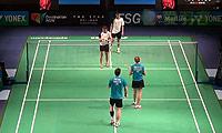 福克斯/迈克斯VS陈润龙/谢影雪 2014澳洲公开赛 混双1/8决赛视频