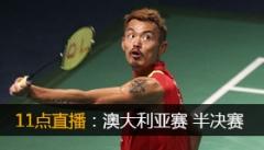 澳洲赛:林丹王适娴进半决赛 男双混双全军覆没