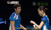 高成炫/金荷娜VS福克斯/迈克斯 2014澳洲公开赛 混双决赛视频