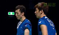 李龙大/柳延星VS李胜木/蔡佳欣 2014澳洲公开赛 男双决赛视频