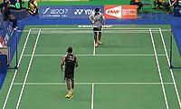 林丹VS皮瑞亚特 2014台北公开赛 男单资格赛视频