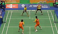 刘雨辰/于小含VS温杜斯/沙旺特 2014台北公开赛 混双1/16决赛视频