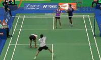 陈润龙/谢影雪VS苏巴蒂亚/维德佳佳 2014台北公开赛 混双1/16决赛视频