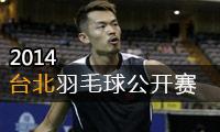 2014年中国台北羽毛球公开赛