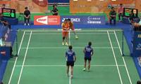 于洋/王晓理VS阿凡达/哈里斯 2014台北公开赛 女双1/8决赛视频
