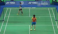 刘鑫VS裴延姝 2014台北公开赛 女单1/8决赛视频
