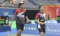 陈宏麟/王齐麟VS盖尔/苏卡穆约 2014台北公开赛 男双1/4决赛视频