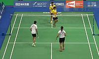 艾菲/安妮莎VS陈润龙/谢影雪 2014台北公开赛 混双半决赛视频