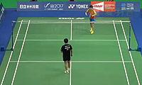 刘鑫VS叶姵延 2014台北公开赛 女单半决赛视频