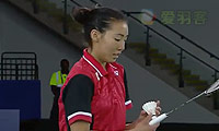 李文珊VS吉尔莫 2014英联邦运动会羽毛球 女单决赛视频