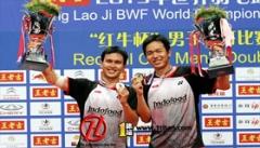 西蒙病阿山伤 印尼放弃世锦赛男双弃卫冕