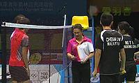 詹俊为/吳芷柔VS麦柯/秦金晶 2014青奥会 混双半决赛视频