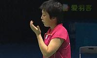 山口茜VS李佳馨 2014青奥会 女单半决赛视频