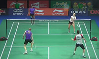 尼克拉斯/蒂格森VS史密斯/韦兰 2014羽毛球世锦赛 混双资格赛视频