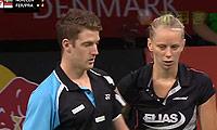 诺德/兰纳森VS费尔纳迪/普拉蒂普塔 2014羽毛球世锦赛 混双资格赛视频