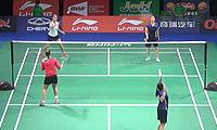 程文欣/谢沛蓁VS加夫列拉/斯托伊娃 2014羽毛球世锦赛 女双资格赛视频