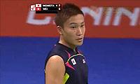 魏楠VS桃田贤斗 2014羽毛球世锦赛 男单资格赛视频