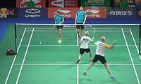 阿纳托里/科塞兹卡娅VS布莱尔/班克尔 2014羽毛球世锦赛 混双资格赛视频