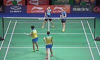 李绍希/申升瓒VS安迪妮/蒂亚拉 2014羽毛球世锦赛 女双1/16决赛视频