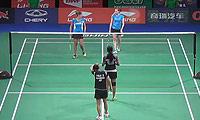 尼蒂娅/波莉VS赫特里克/尼尔特 2014羽毛球世锦赛 女双1/16决赛视频