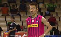 李宗伟VS杜马克 2014羽毛球世锦赛 男单1/16决赛视频