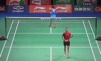 李文珊VS蓬迪 2014羽毛球世锦赛 女单1/16决赛视频