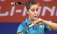 马琳VS郑清亿 2014羽毛球世锦赛 女单1/16决赛视频