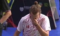 周天成VS约根森 2014羽毛球世锦赛 男单1/8决赛视频