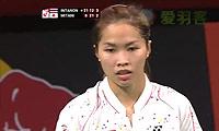 三谷美菜津VS因达农 2014羽毛球世锦赛 女单1/8决赛视频